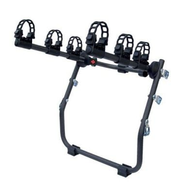 Menabo Mistral bike rack for 3 tailgate / trunk bikes