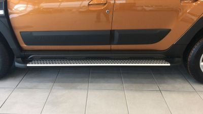 Duster II (2018-2021) - Side step bars Safari ONIX