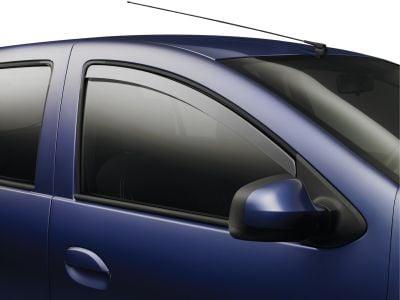 Sandero II / Logan II - Wind deflectors front (Dacia Original)