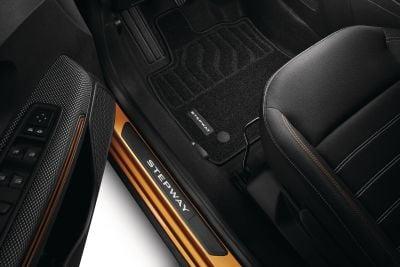 Sandero Stepway III - Textile floor mats Confort (Dacia Original)