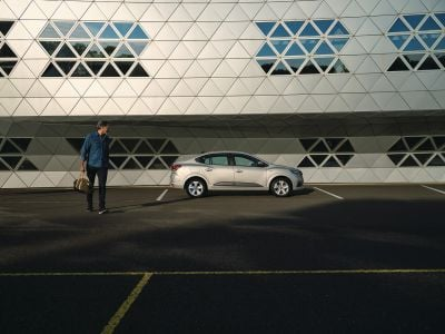 Dacia Logan III - Side protection mouldings kit (Dacia Original)
