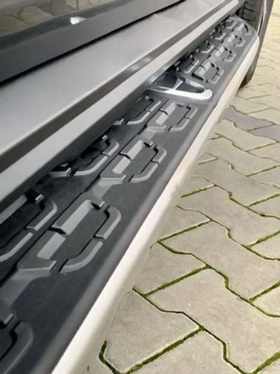 Duster II (2018-2021) - Side step bars with Dacia LOGO (Dacia Original)