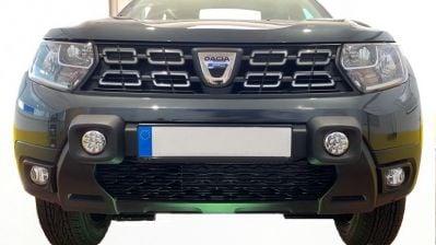 Duster II (2018-2021) - Front bumper auxiliary LED headlights- black (Dacia Original)