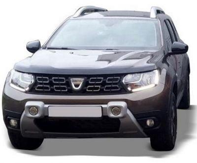 Duster II (2018-2021) - Front bumper auxiliary LED headlights- grey (Dacia Original)