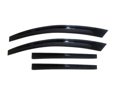 Renault Megane IV - Wind deflectors set front and rear