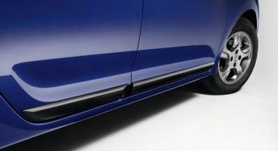 Sandero II (2012-présent)  - Baguettes de protection latérale de portes kit (Dacia Original)