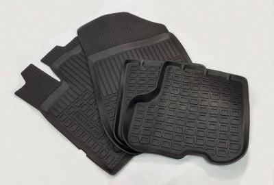 Sandero II (2012-2020) - Tapis de sol caoutchouc à bords hauts (Dacia Original)