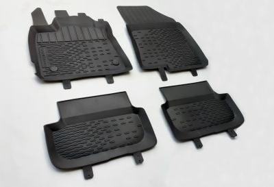 Sandero III - Rubber floor mats with high edges (Dacia Original)