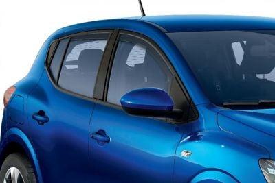 Sandero III / Stepway III - Deflectores del viento conjunto delantero (Dacia Original)
