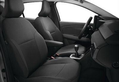 Sandero III / Stepway III - Housses de siège avant et arrière pour banquette 1/3-2/3 (Dacia Original)