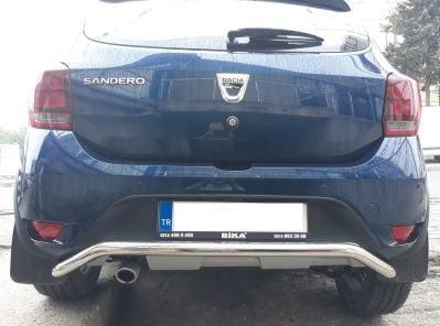 Sandero II (2012-présent) - Barre de protection arrière