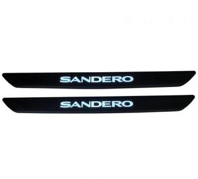 Dacia Sandero III - Illuminated Door sills (Dacia Original)