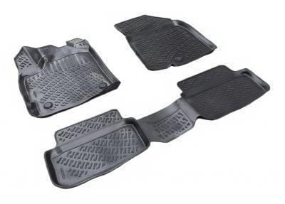 Sandero III - Rubber floor mats with high edges