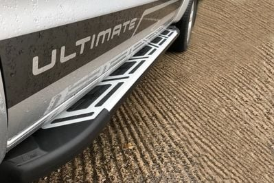 Duster II (2018-2021) - Side step bars Sapphire Deluxe