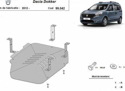 Dokker - Réservoir de carburant bouclier en métal