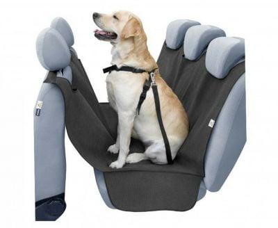 Housse de siège pour chien - ajusté pour les ceintures de sécurité