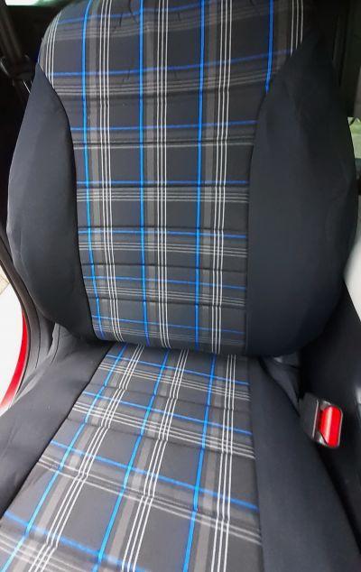 Duster II (2018-2021) - Housses de siège GTI Style -bleu