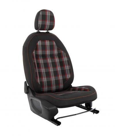 Duster II (2018-2021) - Housses de siège GTI Style -rouge