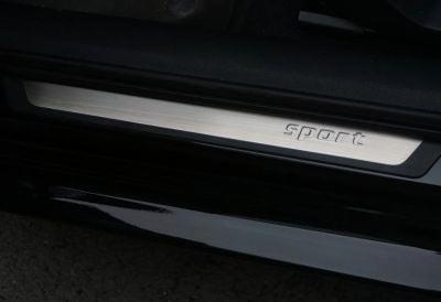 """Dacia Sandero / Renault Captur - Door sills """"Sport"""" - front and rear"""