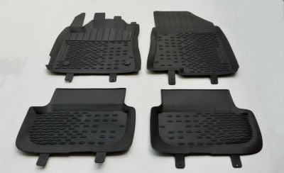 Sandero Stepway III - Rubber floor mats with high edges (Dacia Original)