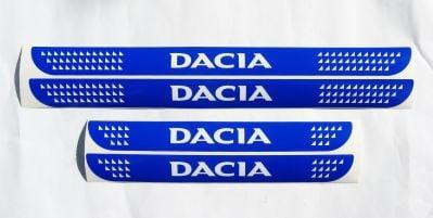 "Dacia - Door sills stickers ""Dacia"" set"