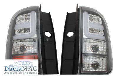 Duster (2010-2017) - LED Rear lights black