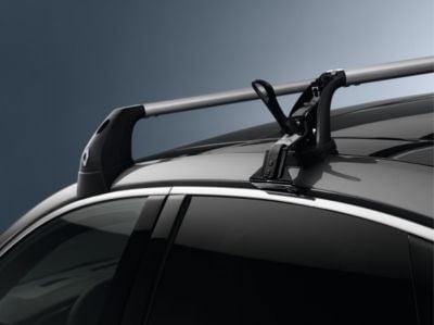 Dacia Logan III - Barres de toit transversales en aluminium (Dacia Original)