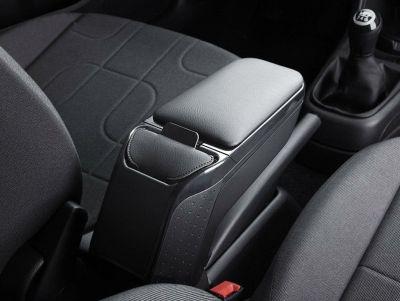 Renault Zoe - Premium Apoyabrazos con bolsillo portátil