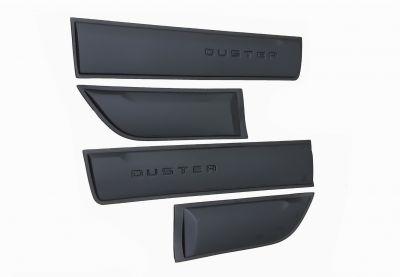 Duster II (2018-2021) - Ensemble de Baguettes de protection latérale de portes avec LOGO