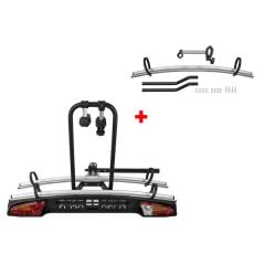 Menabo Merak Rapid Plus bike holder for 3 bikes with towbar mount
