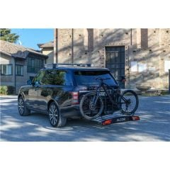 Portabicicletas Menabo Alcor 2 para 2 bicicletas con enganche en el gancho de remolque