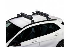 Cruz Ski Rack Dark 6 - Cross-bar SKI Holder (6 ski pairs)