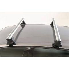 Dacia Sandero II (2013-2021) - Barres de toit transversales Menabo Delta Silver