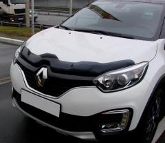 Renault Captur (2013-) - Hood deflector