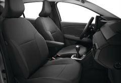 Sandero III / Stepway III - Fundas para asientos delanteros y traseros para banquetas 1/3-2/3 (Dacia Original)