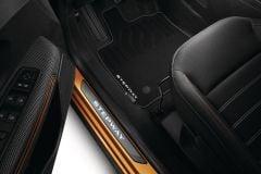Sandero Stepway III - Textile floor mats Premium (Dacia Original)
