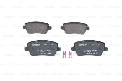 Brake pads - front (car without ESP) DACIA DUSTER I / DUSTER II / LODGY (BOSCH 0986424795)