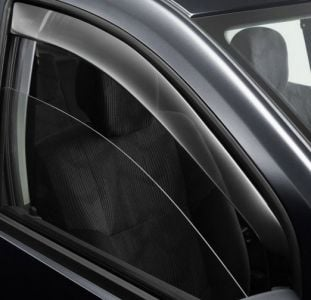 Duster (2010-2017) - Wind deflectors set Front and Rear (Dacia Original)