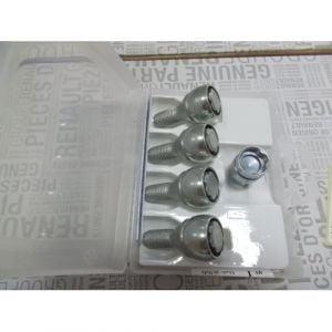 Dacia - Anti-theft bolt kit for wheels (Dacia Original)
