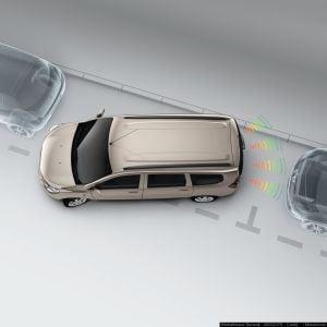 Lodgy - Sensores de aparcamiento traseros (Dacia Original)