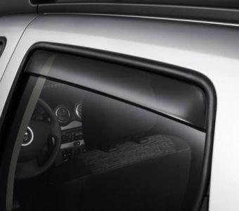 Duster (2010-2017) - Déflecteurs d'air arrières