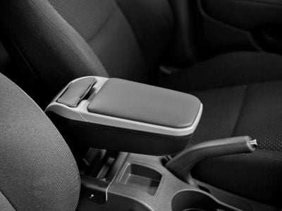 Duster II (2018-2021) - Premium Armrest with portable pocket - Chrome