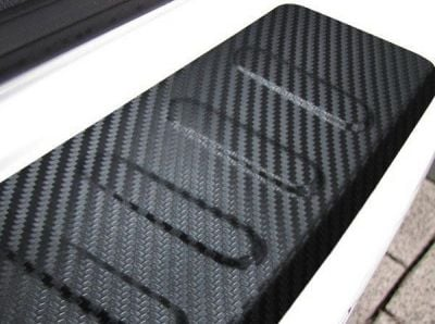 Sandero II (2012-presente) - Protector del umbral del maletero Carbon