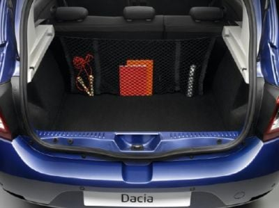 Sandero II / Logan II - Vertical cargo net (Dacia Original)