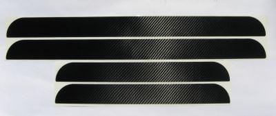 "Dacia - Door sills stickers ""Carbon"" set"