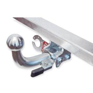 Duster II (2018-2021) - Conjunto de remolque (gancho de remolque + barra de remolque + kit eléctrico) Galia premium