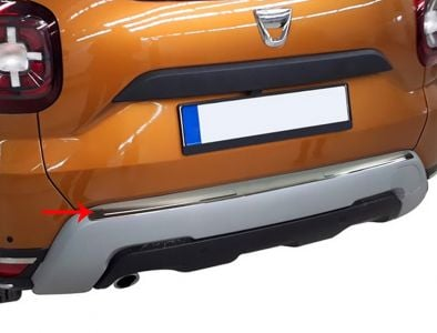 Duster II (2018-2021) - Boot entry guard Pure Chrome