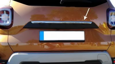 Duster II (2018-2020) - Chrome tailgate sill cover