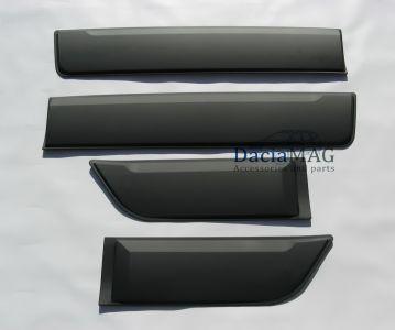 """Duster II (2018-2021) - Baguettes de protection latérale de portes kit """"Safari"""""""