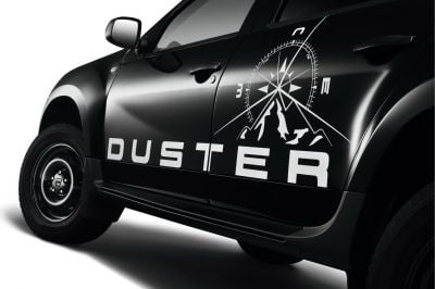 "Duster - Side doors stickers set ""Adventure"""